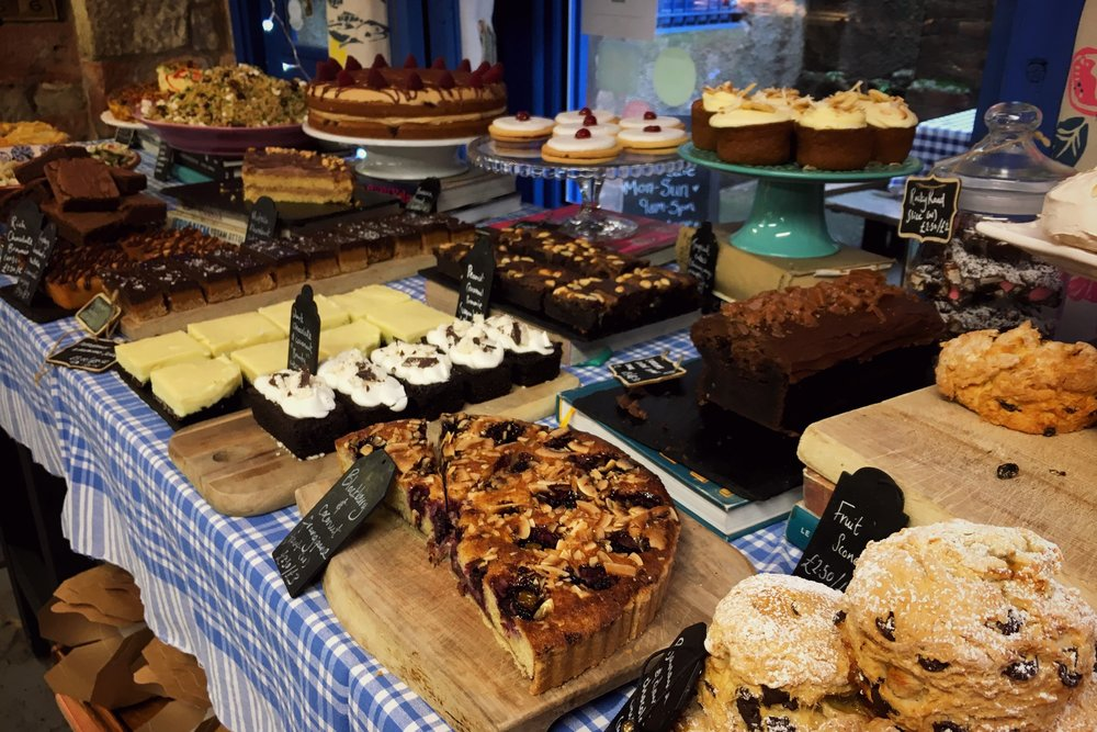 cake selection at Singl-end