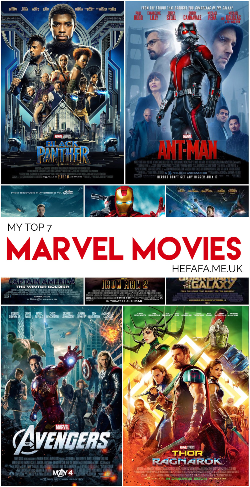 My Top 7 Marvel Movies - Heather on hefafa.me.uk