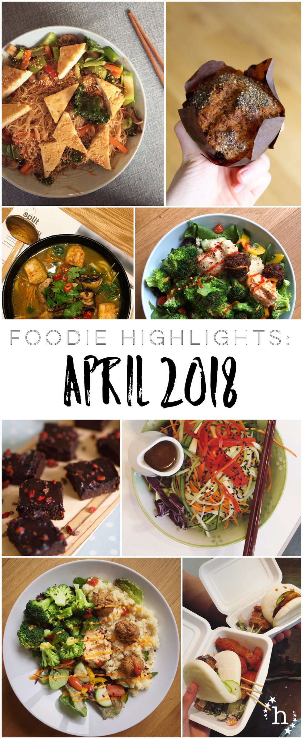 Foodie Highlights: April 2018 - hefafa.me.uk