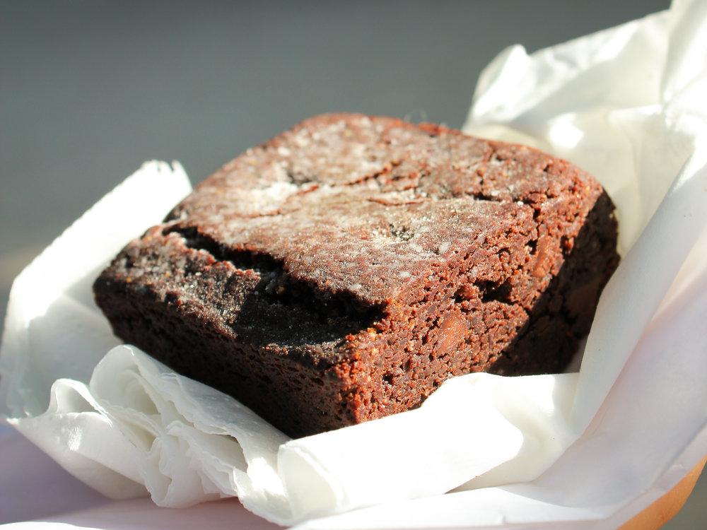 chocolate brownie from Kitchen Paris