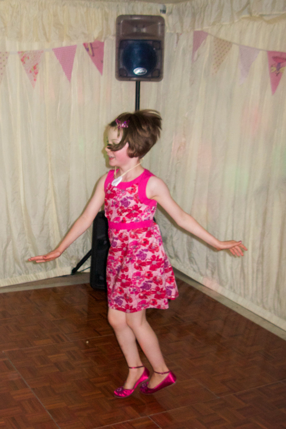 dancing at another wedding when I was eight