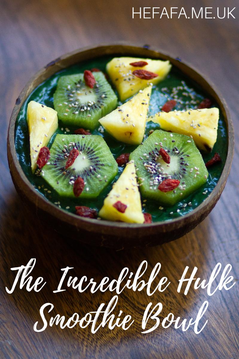 The Incredible Hulk Smoothie Bowl - hefafa.me.uk
