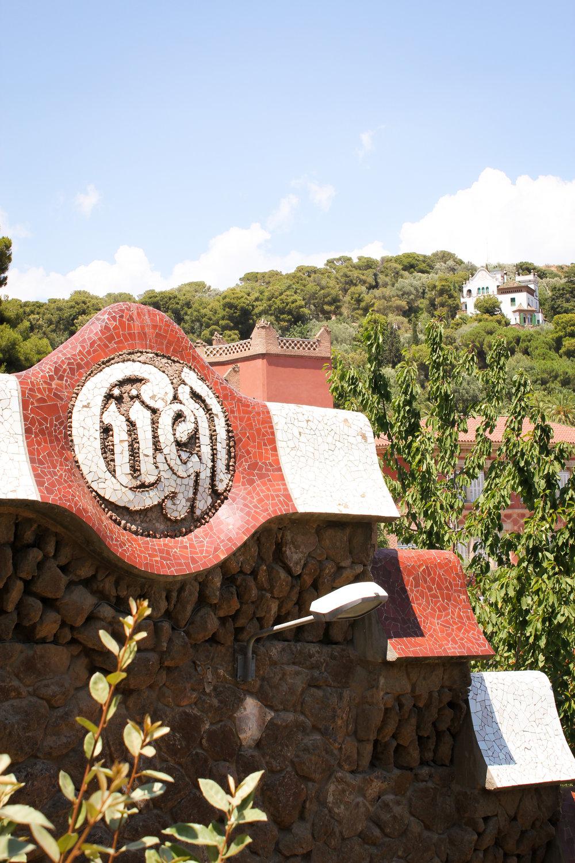 entrance to Park Güell