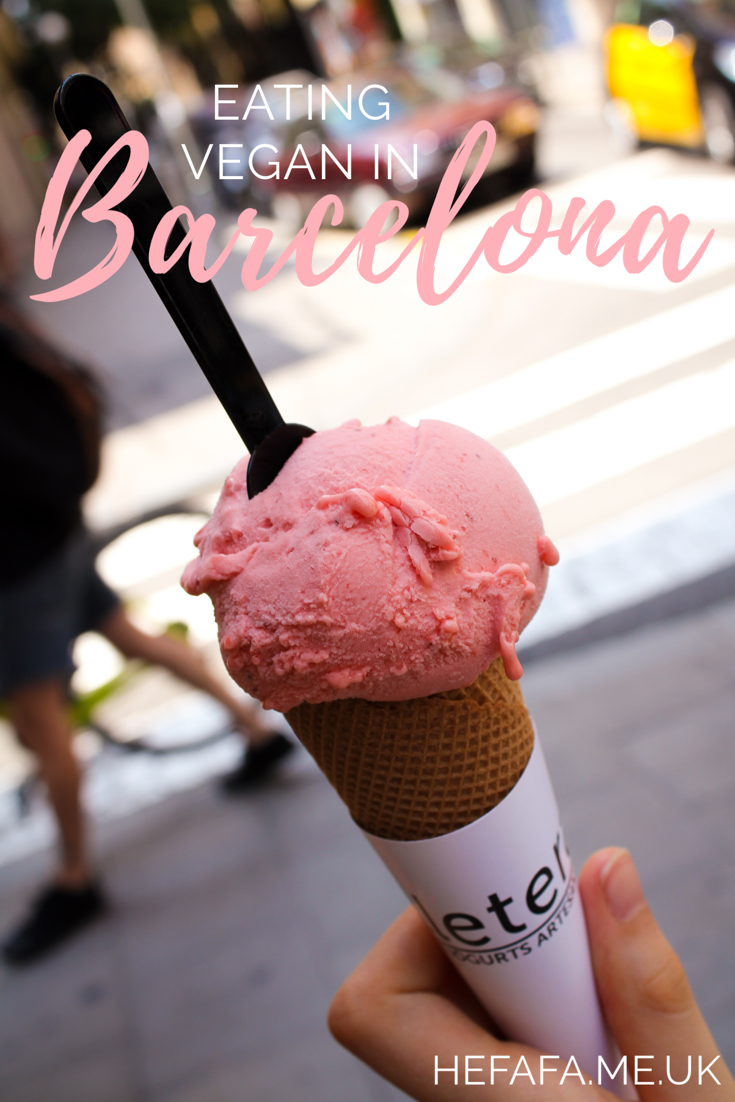 eating vegan in Barcelona - hefafa.me.uk
