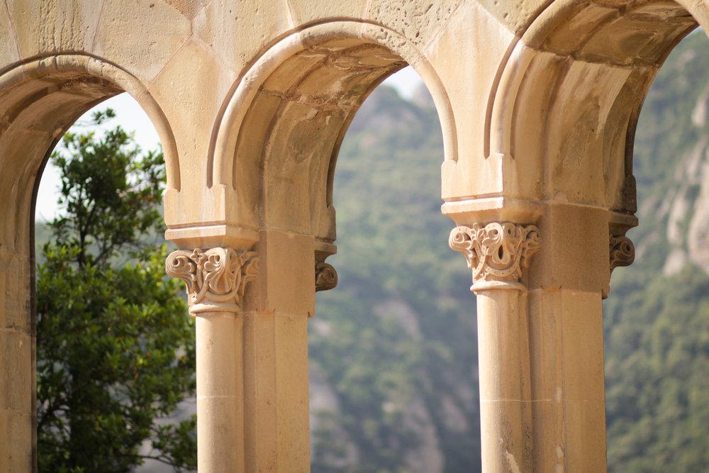 arches at Montserrat
