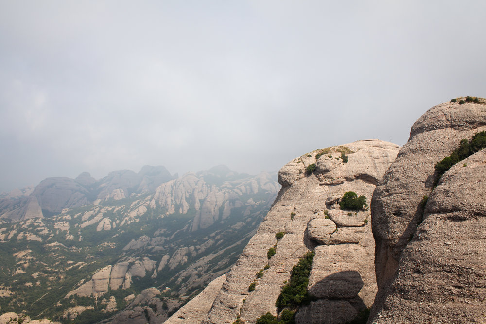 views over Montserrat