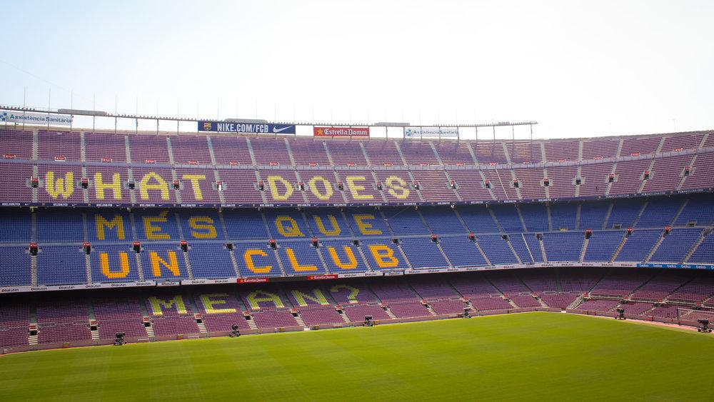 """""""more than a club"""""""