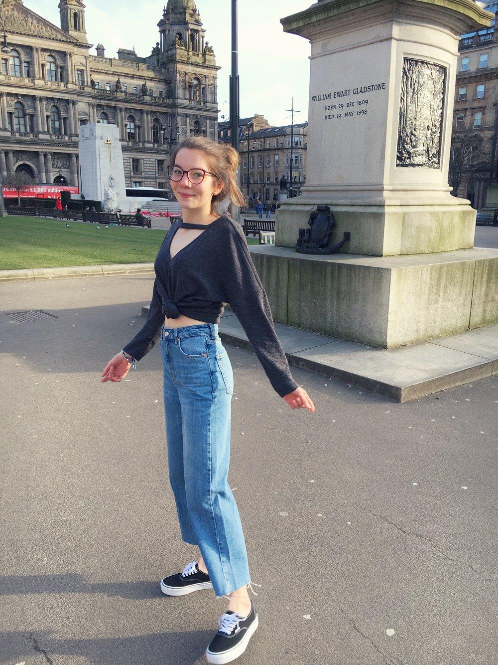 24th February - loving my new  mom jeans !