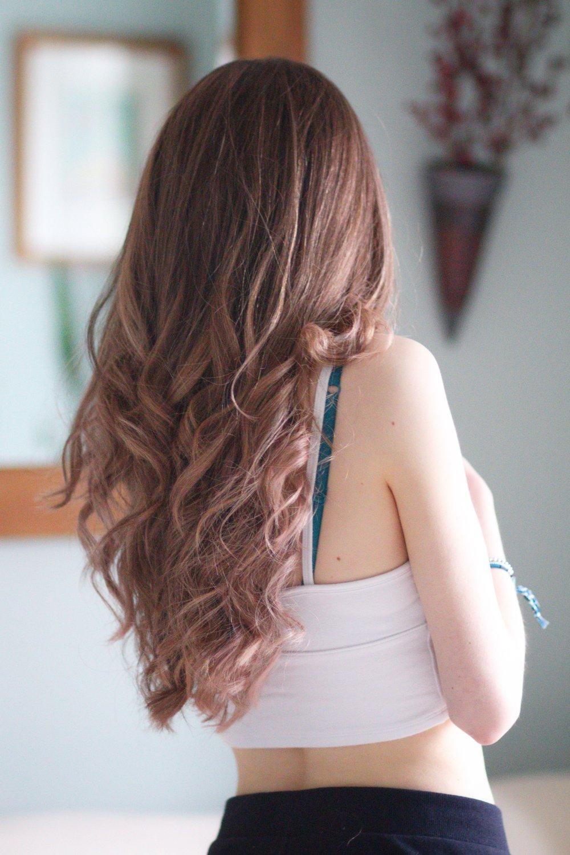 4th April - rose gold hair…