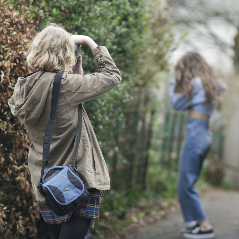 12th April - another  fab photoshoot  with Mia and Freja