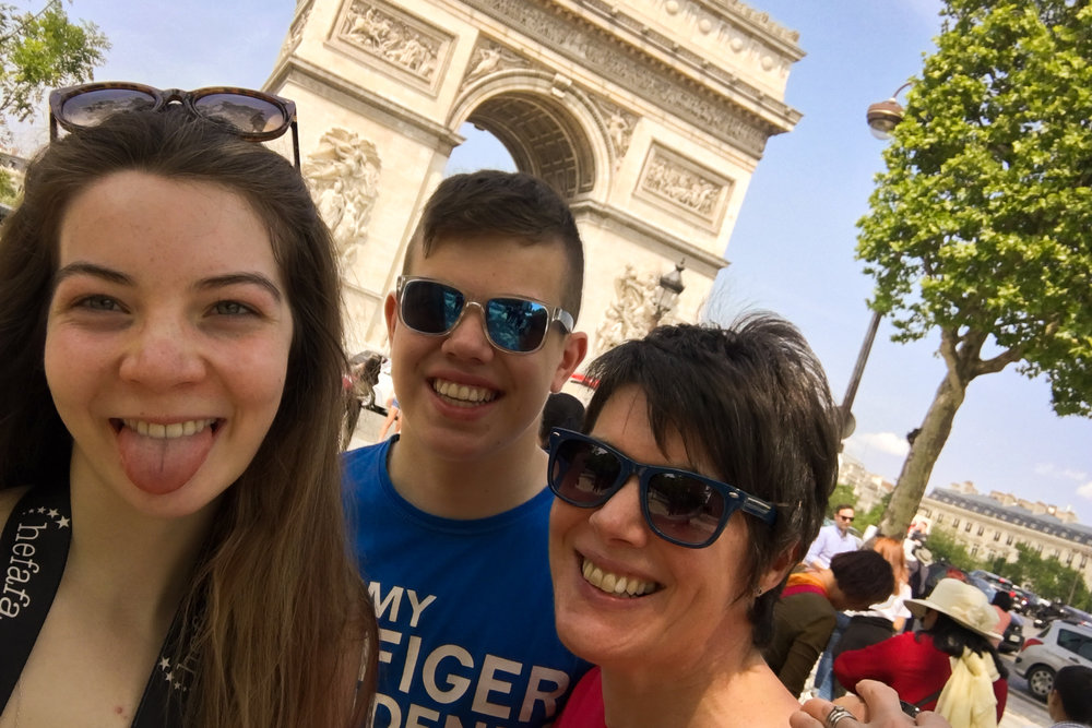 25th May - a little post-exam trip to  Paris !