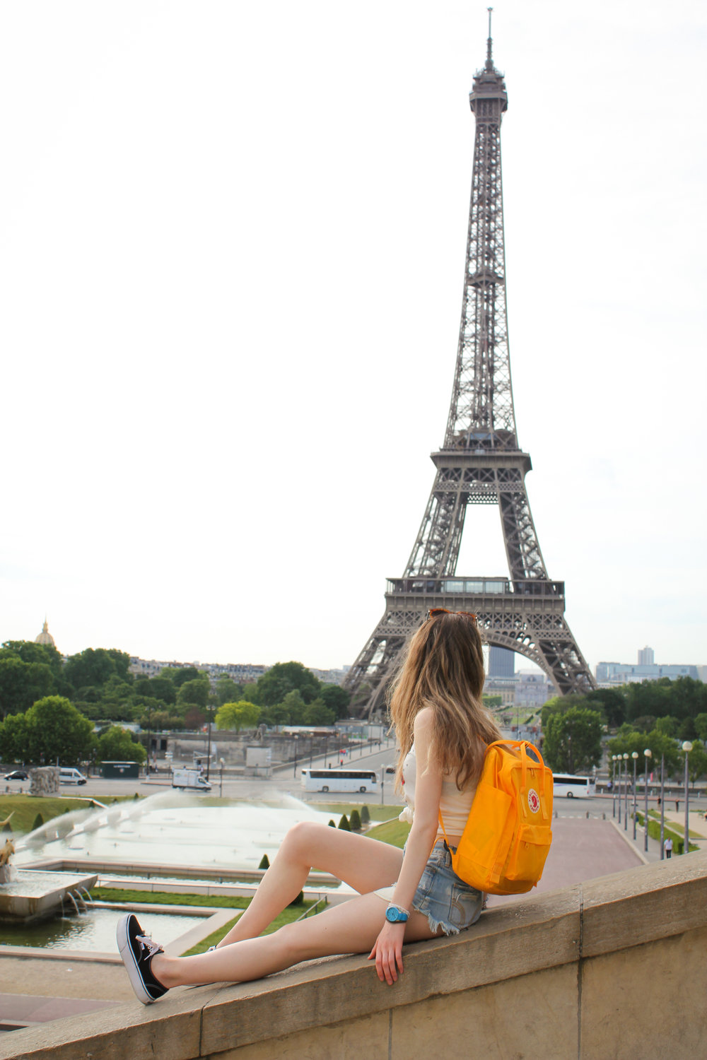 27th May - looking at the Eiffel Tower…