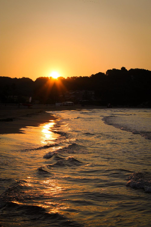 11th July - sunrise at the beach