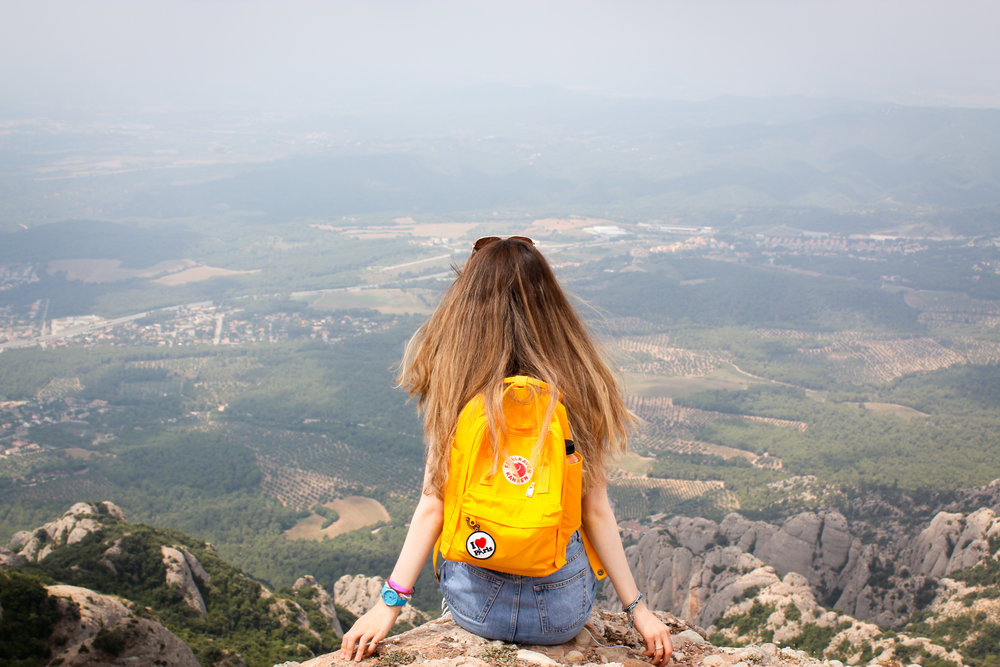 11th July - quite a view from  Montserrat