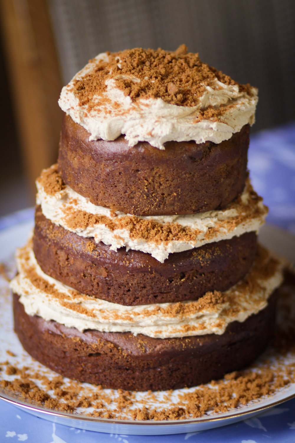 3rd August - a big Biscoff cake