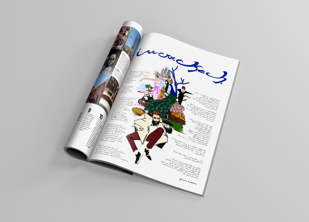 Destino ilustrado. Ilustración para Traveler, junio 2018.