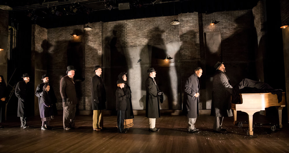 The cast of RAGTIME Photo by Dan Norman