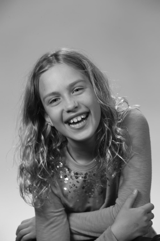 Julia Fé Foster Warder (Skater/Little Girl)