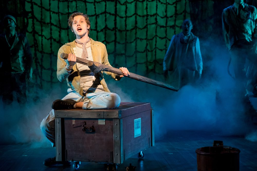 Theater Latté Da's PETER AND THE STARCATCHER. Photography by Dan Norman.
