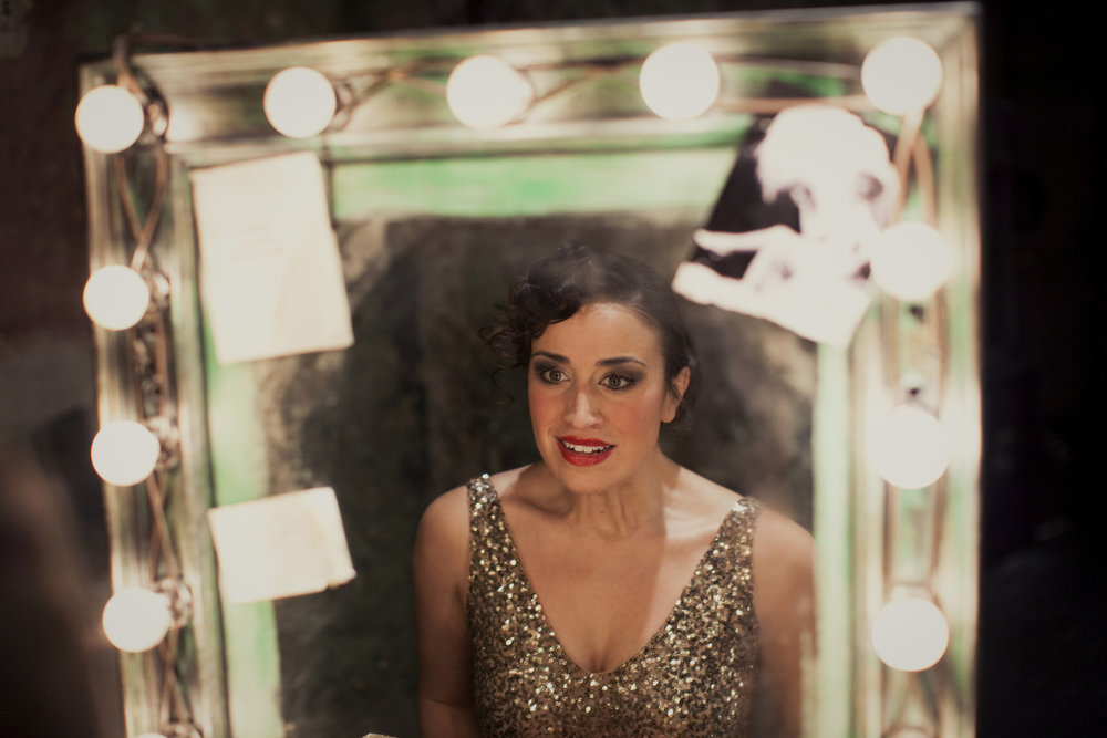Cat Brindisi as Gypsy Rose Lee, Photo by Joe Dickie
