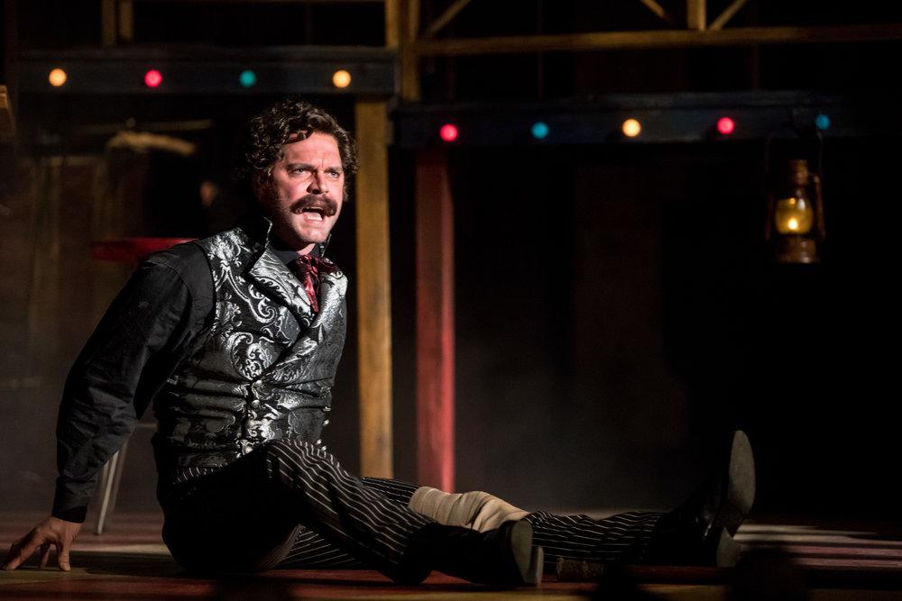 Dieter Bierbrauer as John Wilkes Booth, Photo credit Dan Norman