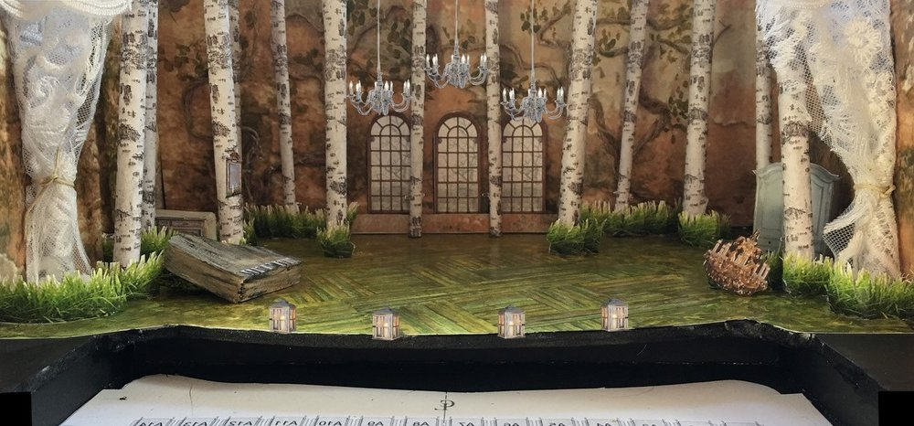 Scenic design by Joel Sass