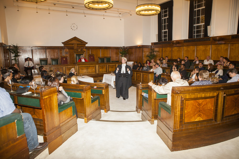 London audiences take seats ready for trial duty in the futuristic Code 2021