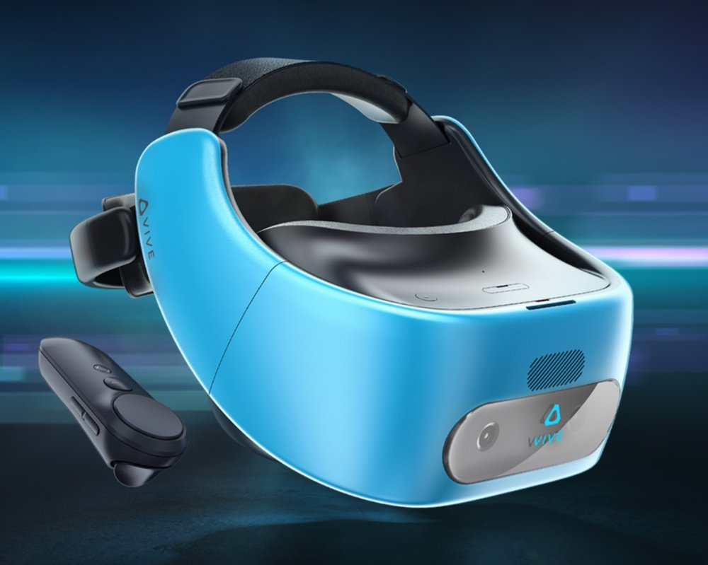 The upcoming HTC Vive Focus promises to be a self-contained mobile headset that tracks a user's motion with outward-facing cameras.