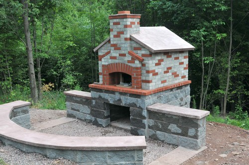 wood fire oven -