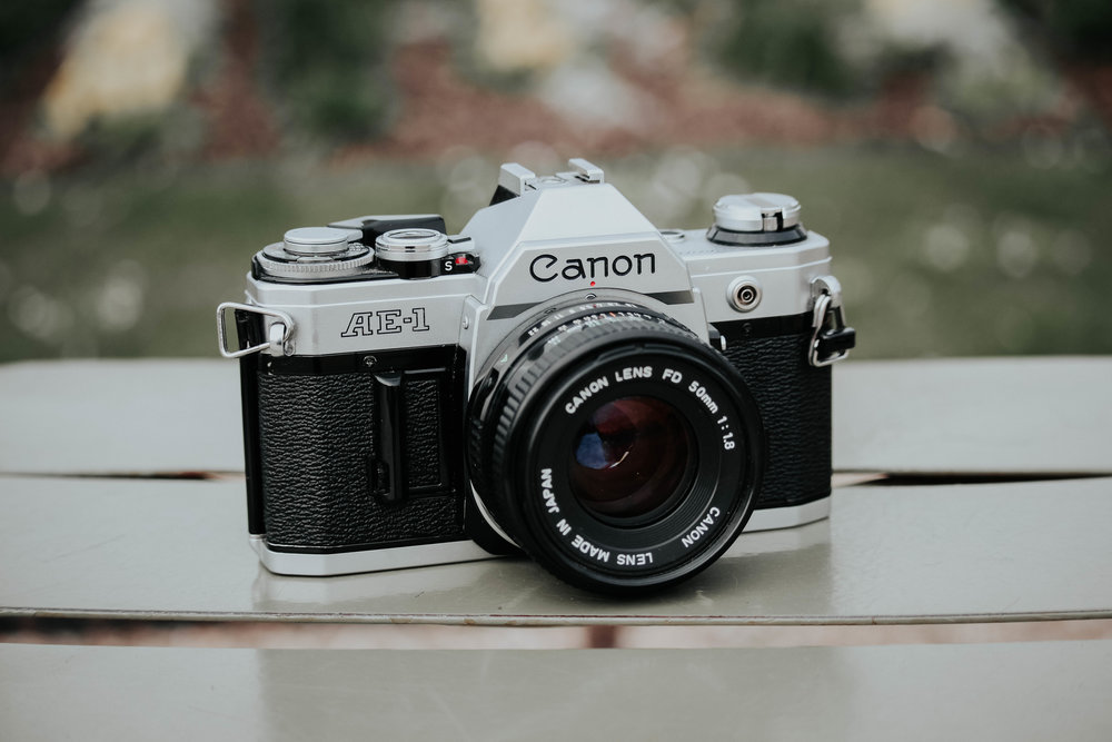 Canon AE-1 Travel Essentials