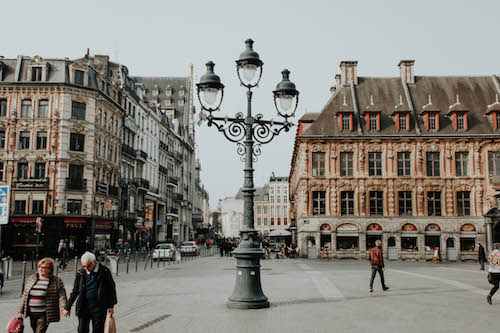 La Vieille Bourse (the Old Stock Exchange)