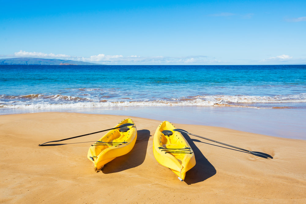 Kayaks Napili Bay