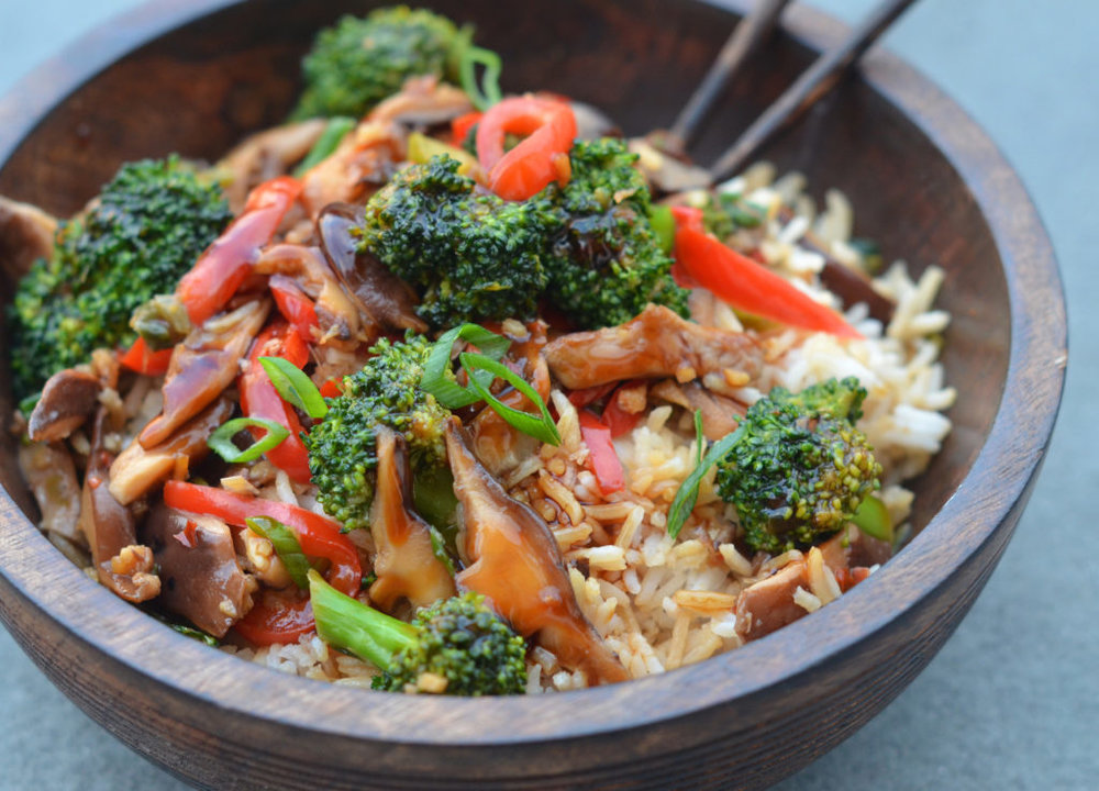 Enlightening Entrees! - This dish is not only delicious; it's super good for you! The fresh and crunchy veggies and high protein tofu, mixed with the sweet and sour sauce on a bed of rice or noodles will transport you to you favorite Chinese restaurant!