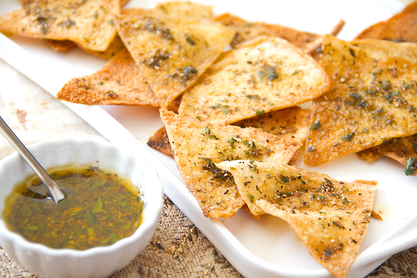 Sumptuous Snacks! - These yummy chips are great with hummus, guacamole or any dip.