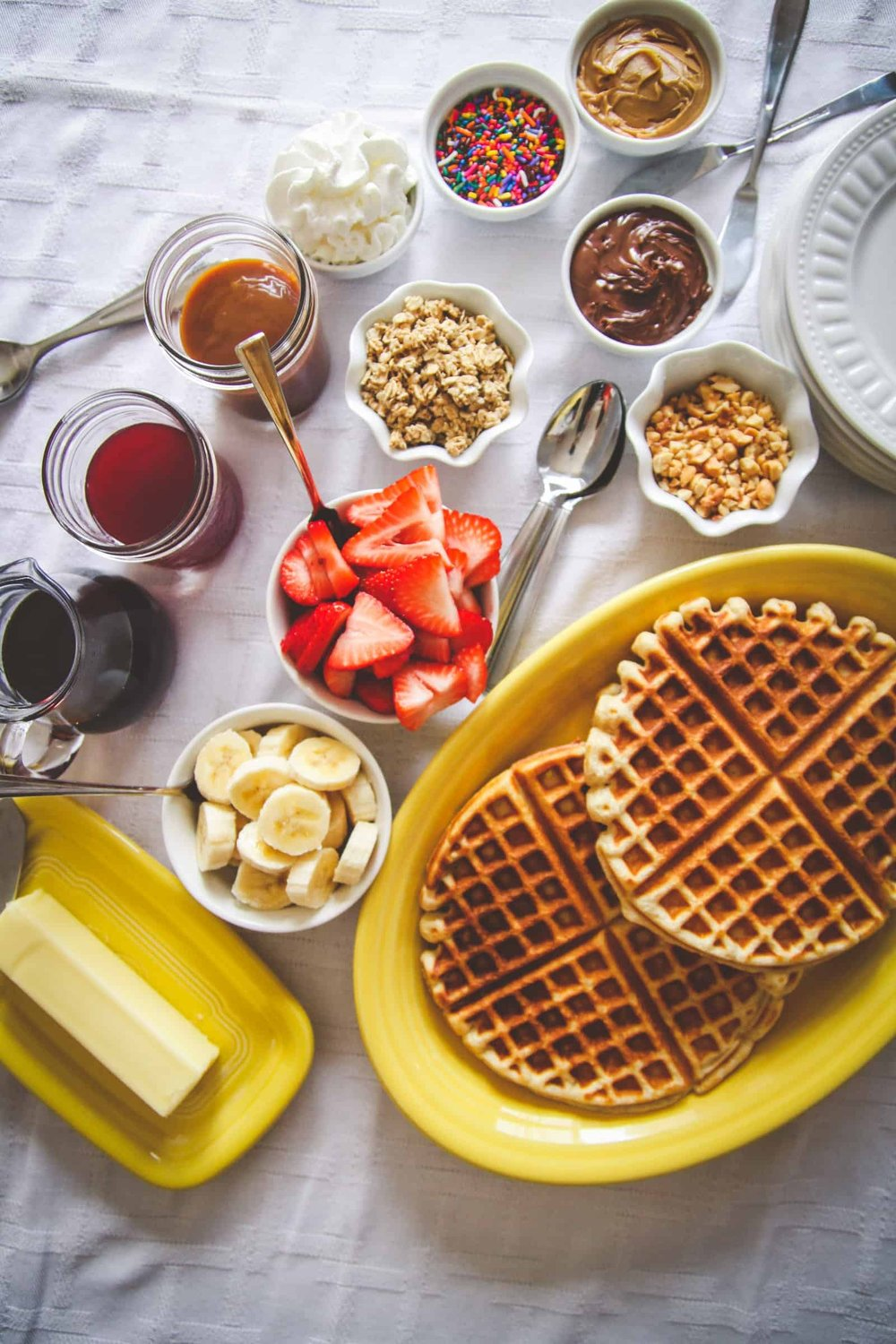 Blissful Breakfasts! - Check out these various waffle recipes.