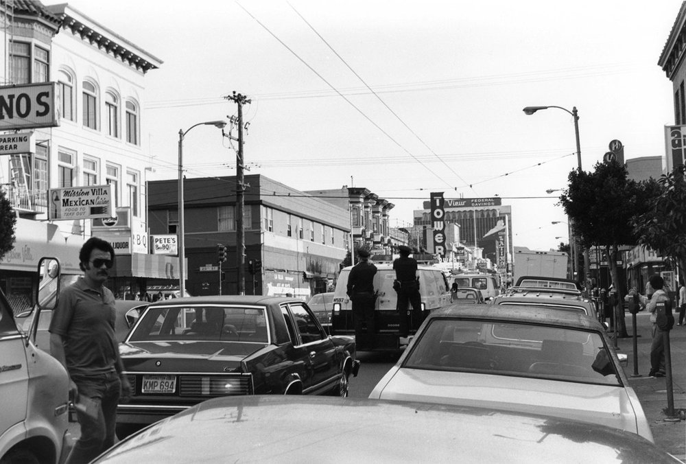 Police on Patrol, Mission Street
