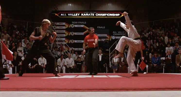 How a Movie Shot in the San Fernando Valley Made Us All The Karate Kid - LA Weekly