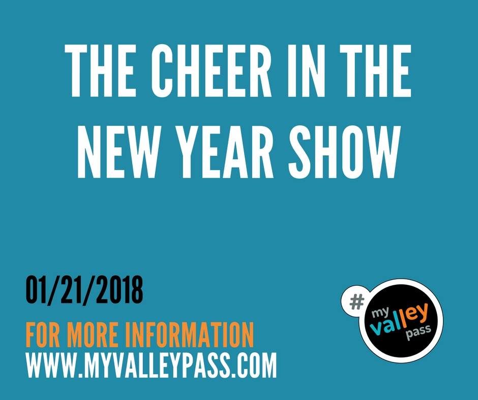 The Cheer in the New Year - Date: 01/21/2018City: North HollywoodAdmission: $15-$20Times: 7:30pmWebsite: CLICK HERE