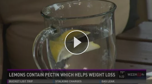 Grand Rapids Natural Health on WZZM 13 - Video on Benefits of Lemon Water (photo).