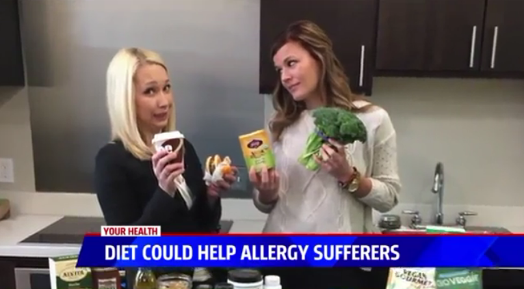 Grand Rapids Natural Health on Fox17 - Diet Can Help Springtime Allergies