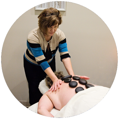 Massage Therapy and Body Work session (photo).