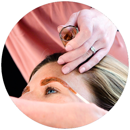 Brow Waxing Services.