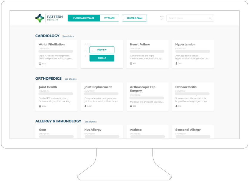 REACH MORE PEOPLE - Through the Pattern Library, reach individuals and more than 90 member organizations who want to license patterns and assessments from leading experts.