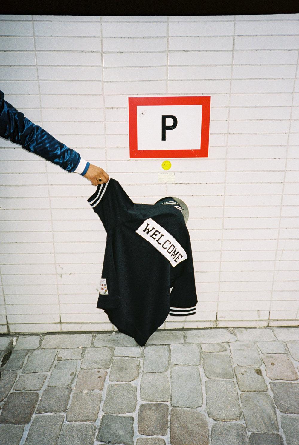 Patta x Mitchell & Ness Shooting Shirt (Black)