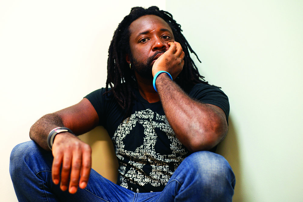 Marlon James, author of  'A Brief History of Seven Killings'