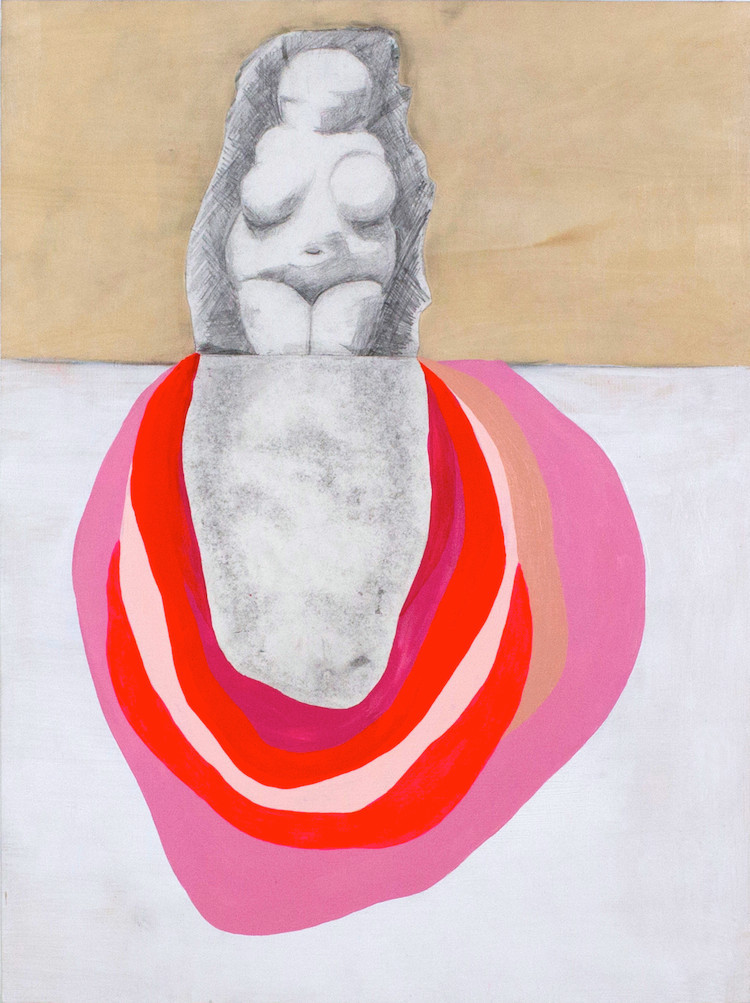 """Venus of Will   24"""" x 18"""" x 1.5"""" 