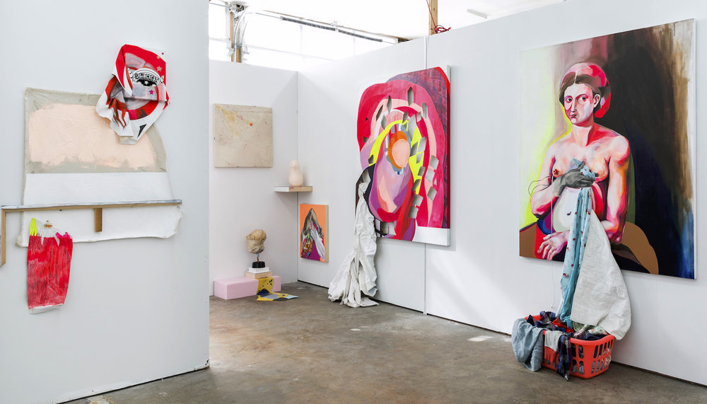 Installation view from Rips