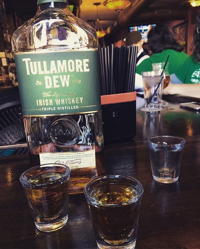 $6 shots of Tulley at the Drum!  The sweet elixir of Irish whiskey... once it hits your lips....