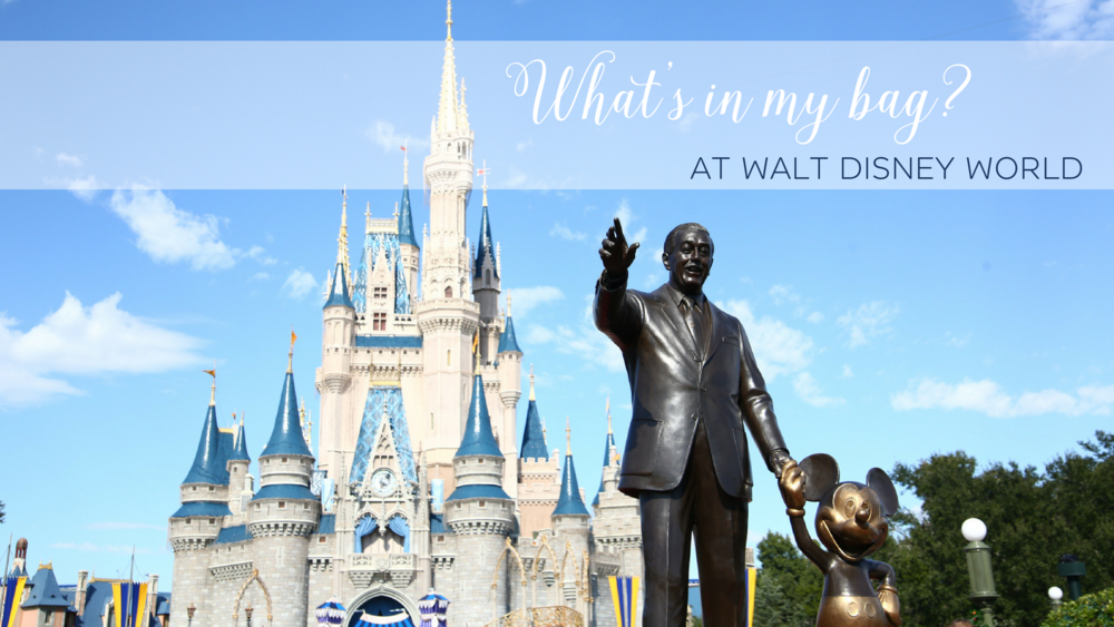What's in my bag? At Walt Disney World