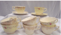 CHINA TEA CUPS             QUANTITY: 20 RENT: $1 EACH